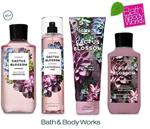 Bath & Body Works - Cactus Blossom Deluxe Gift Set