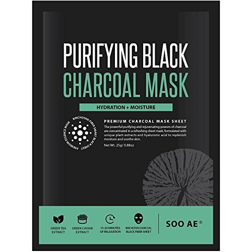 SOOAE - Purifying Black Charcoal Mask