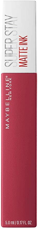 Maybelline - Superstay Matte Ink Nudes, Barra de Labios Mate, Tono 80 Ruler