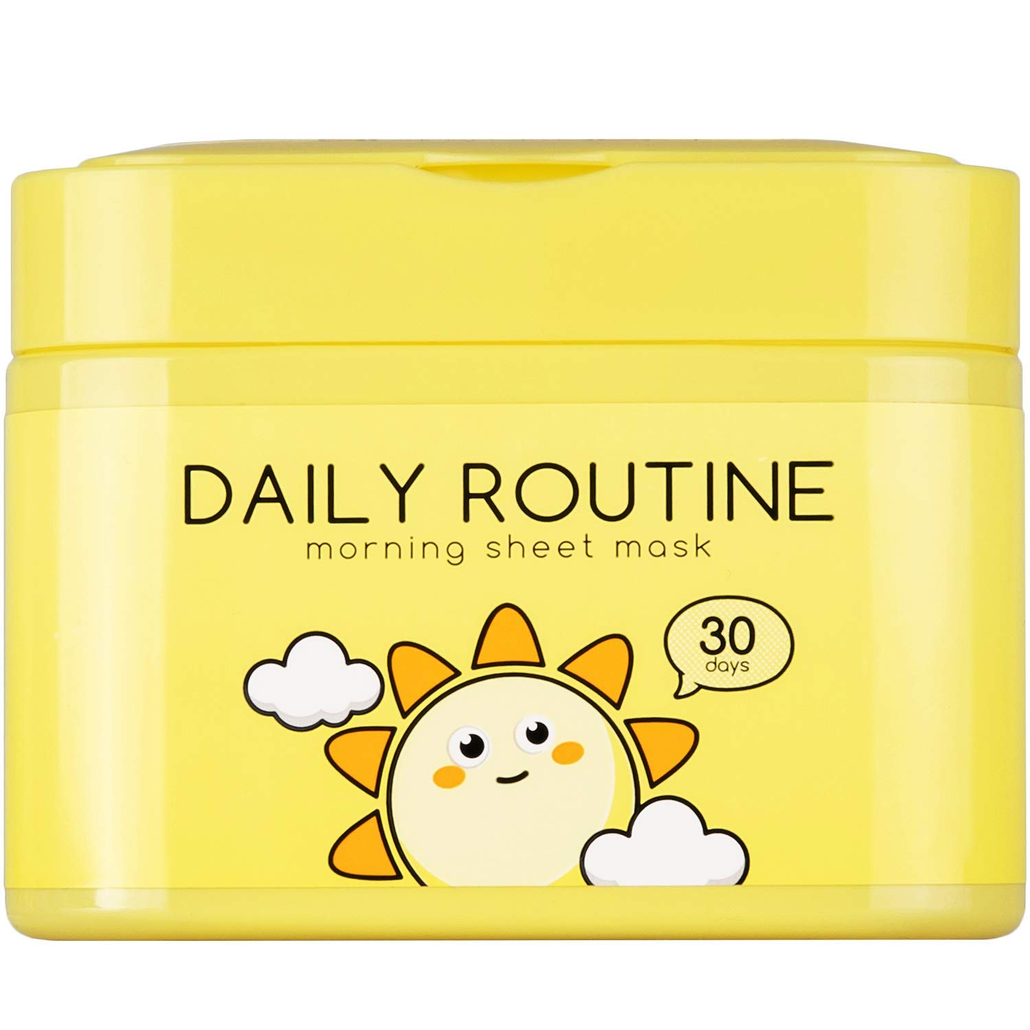 QTBT - Daily Routine Morning Face Mask Sheet Hydro Boost