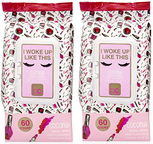 "B.C Beauty Concepts - Beauty Concepts - 2 Pack (60 Count Each)""I Woke Up Like This"" Coconut Facial Cleansing"