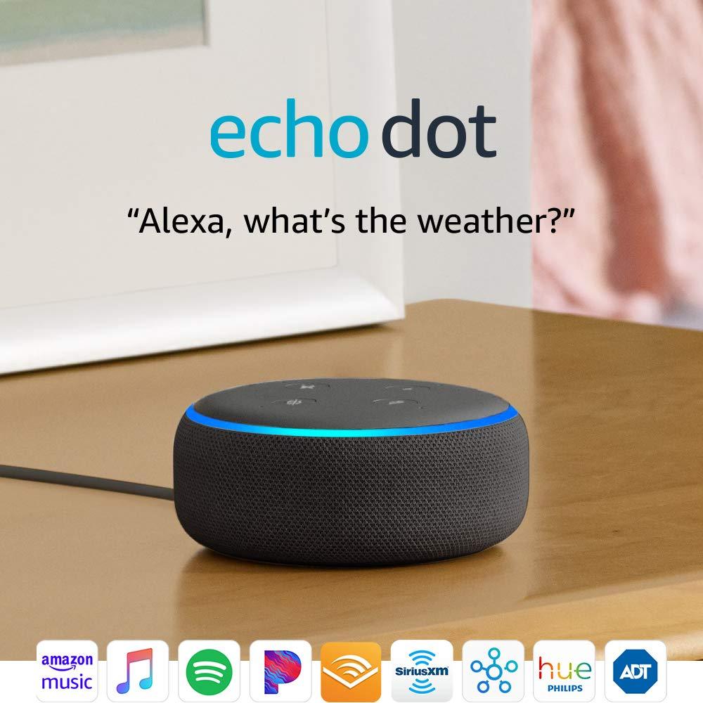 amazon.com - Echo Dot (3rd Gen) - Smart speaker with Alexa - Charcoal
