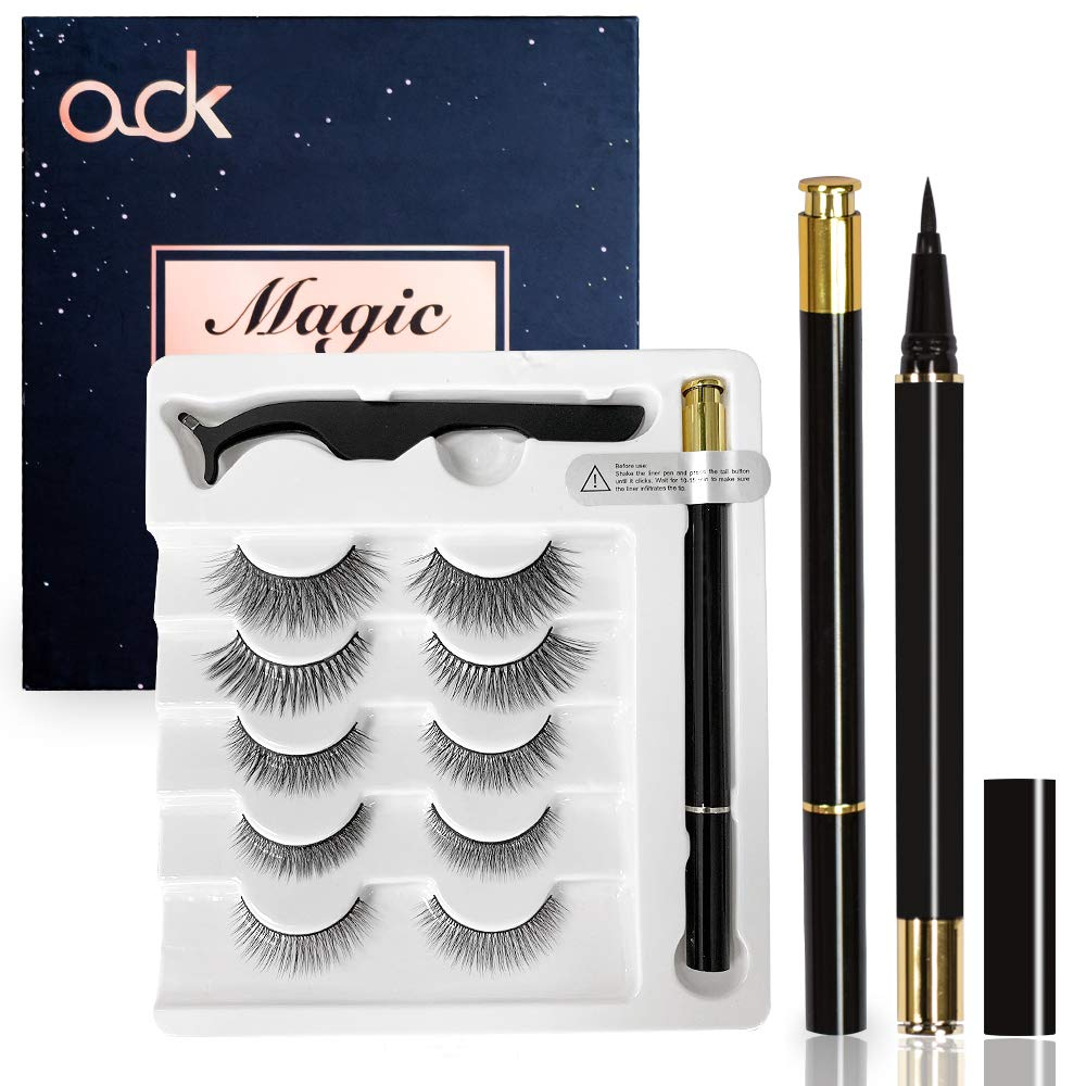 Ook - Magnetic Eyeliner and Eyelashes Kit
