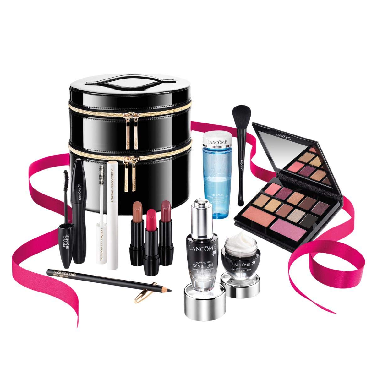 Lancome - Lancome 2019 Holiday Beauty Box in GLAM Collection, 11 Full Size Best Sellers Favorites Set