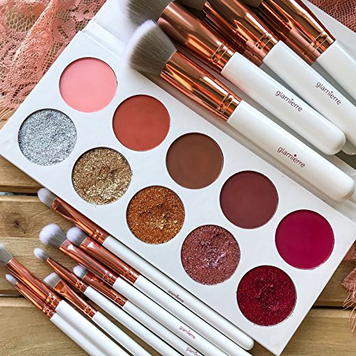 Glamierre - Glamierre Glitz Glam Eyeshadow Palette - Make your eyes stand out & glow with gorgeous matte and glitter shades! Our eye shadows can be used wet or dry for the finest applications. High-Pigment