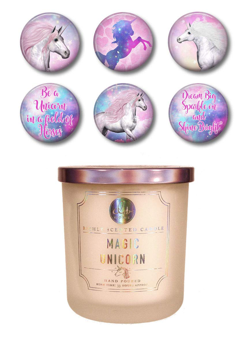 Dw Home - Magic Unicorn Cotton Candy Candle