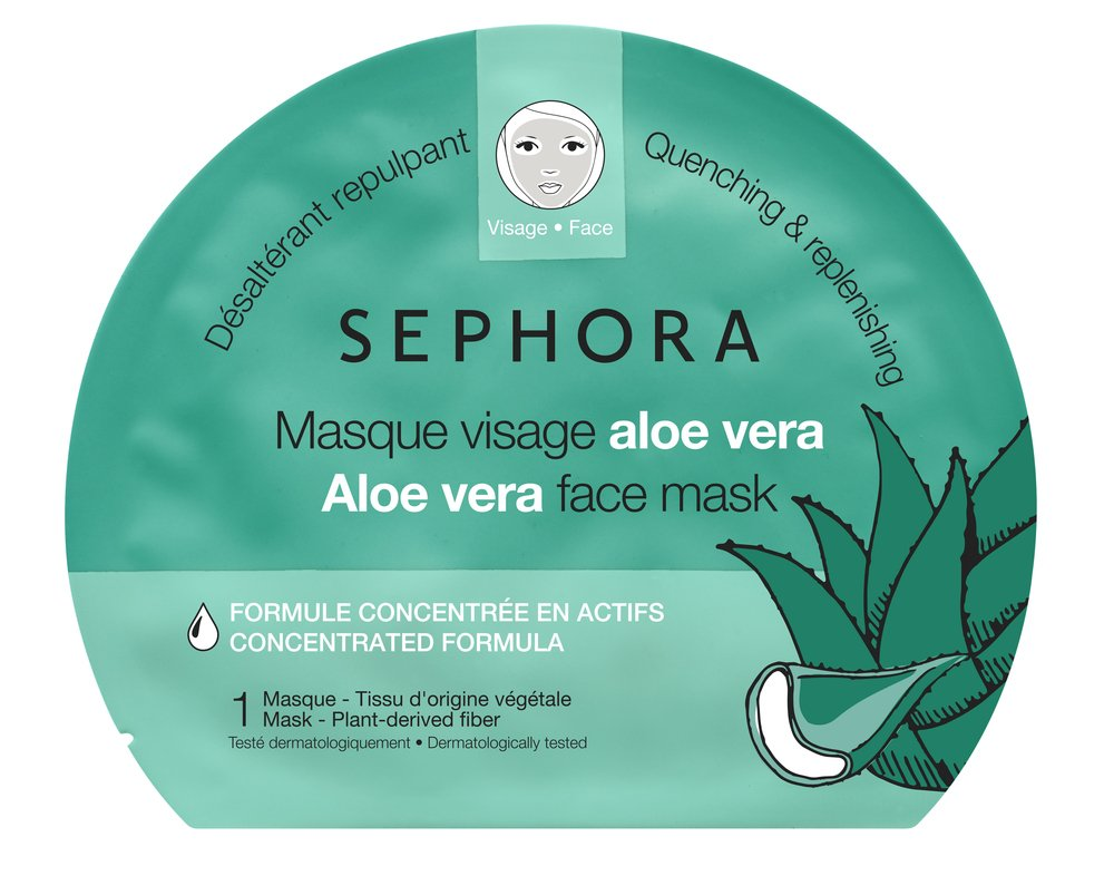 Sephora - Sephora Collection Aloe Vera Face Mask, Quenching & Replenishing