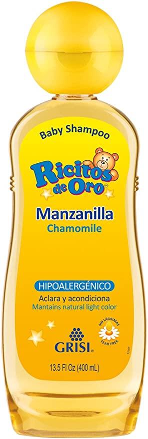 Amazon - Ricitos de Oro Shampoo, Manzanilla, color Amarillo, 400 ml