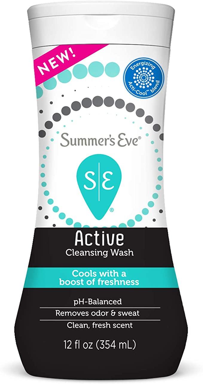 www.amazon.com - Summer's Eve Active Feminine Cleansing Wash, Cooling & Refreshing, 12 fl oz