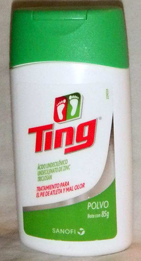 TING - Powder Antifungal Aids for Athletes Foot & Bacteria Antiseptic