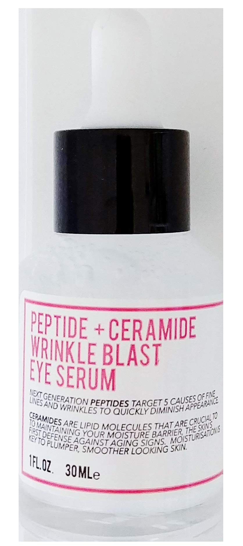 The Herbiarie - The Herbiarie Peptide and Ceramide Wrinkle Blast Eye Serum - Botanical Based Skincare - Target Fine Line and Wrinkles To Diminish Appearance
