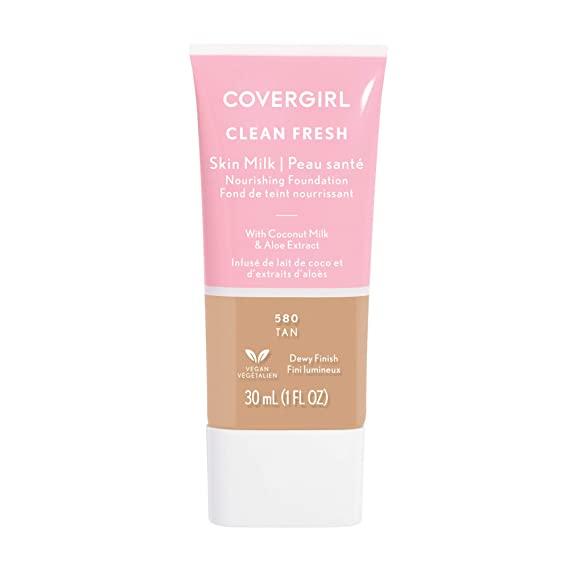 Covergirl COVERGIRL, Clean Fresh Skin Milk Foundation, Tan, 1 Count