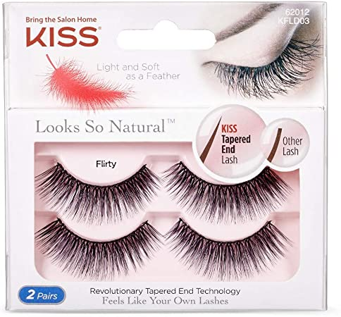 Kiss Look so Natural Double Pack, Flirty