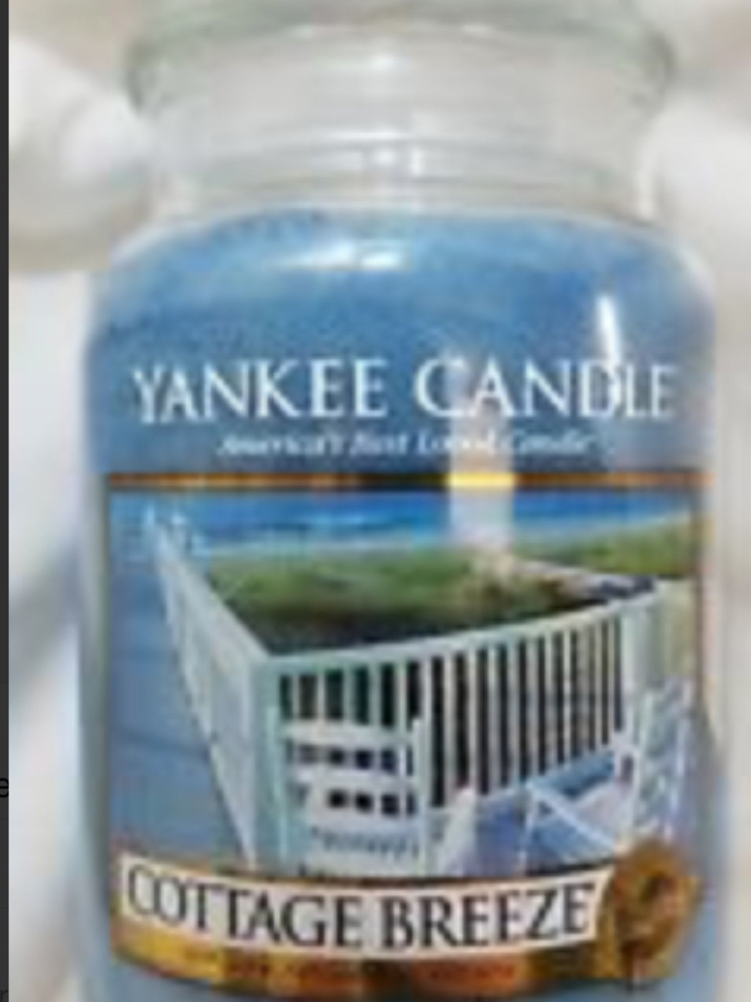 Yankee Candle - Yankee Candle Cottage Breeze Large Jar Candle