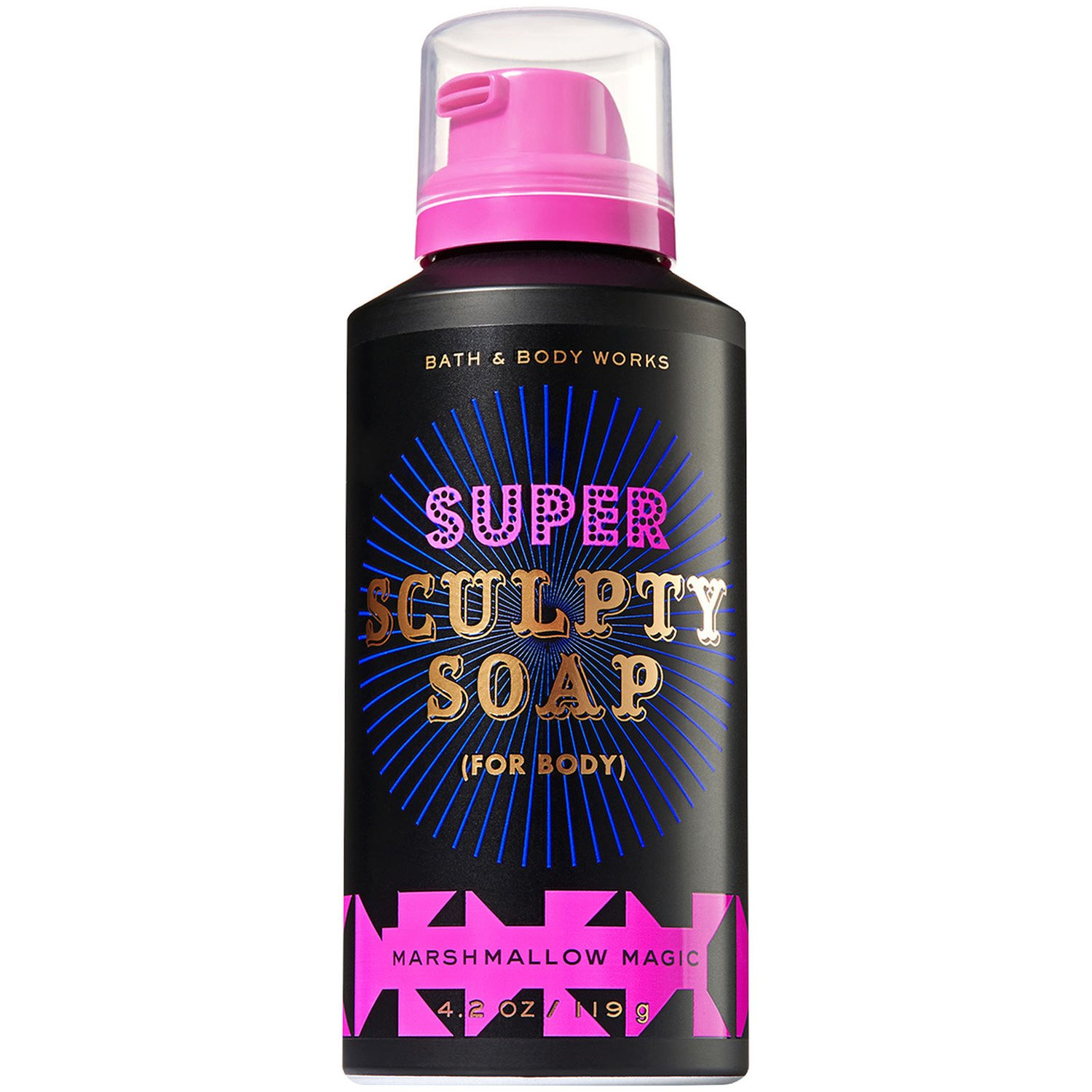 Bath & Body Works Bath & Body Works 4.2 Ounce Super Sculpty Soap (For Body) Marshmallow Magic Scent
