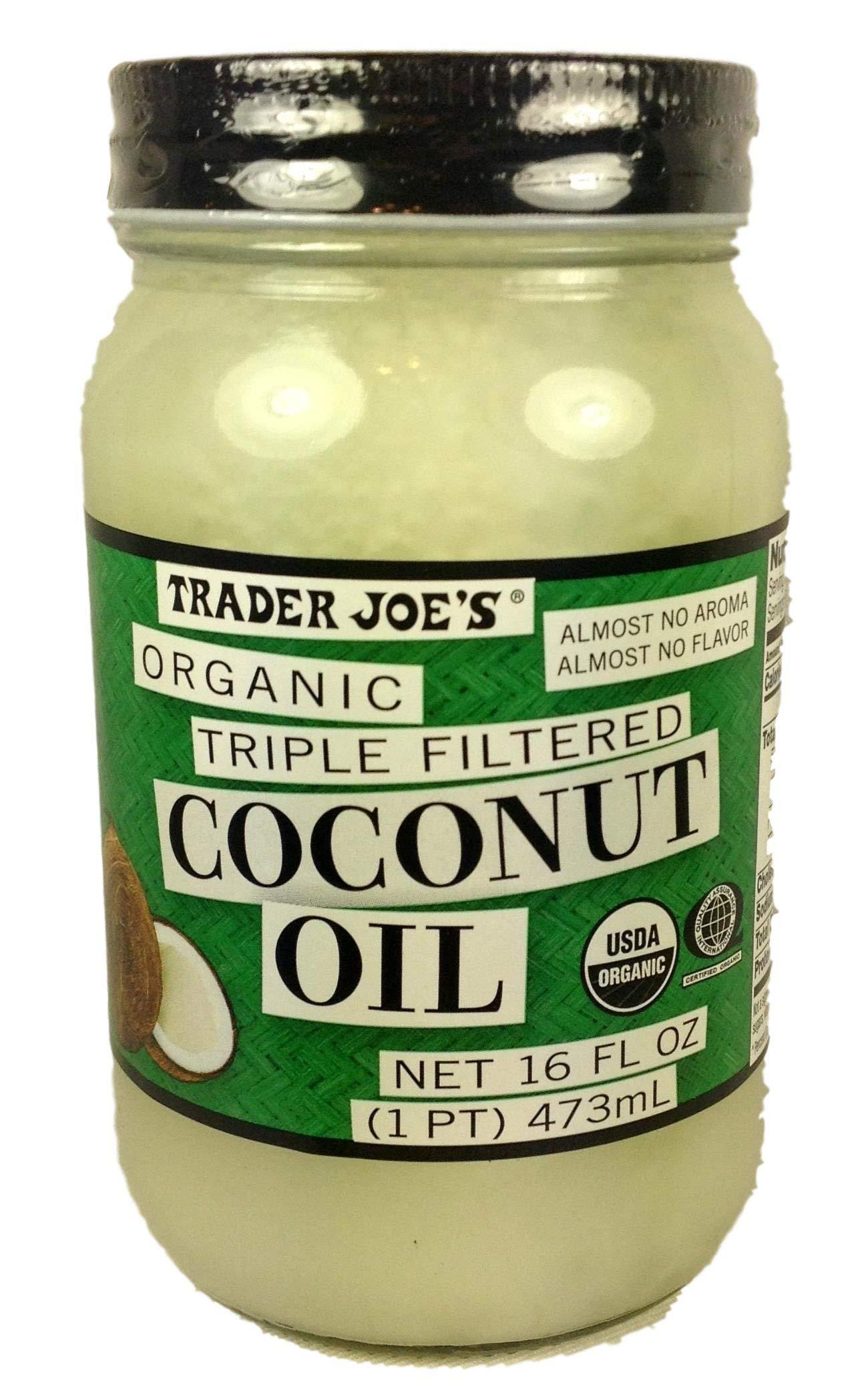 Trader Joe'S - Trader Joe's Organic Triple Filtered Coconut Oil