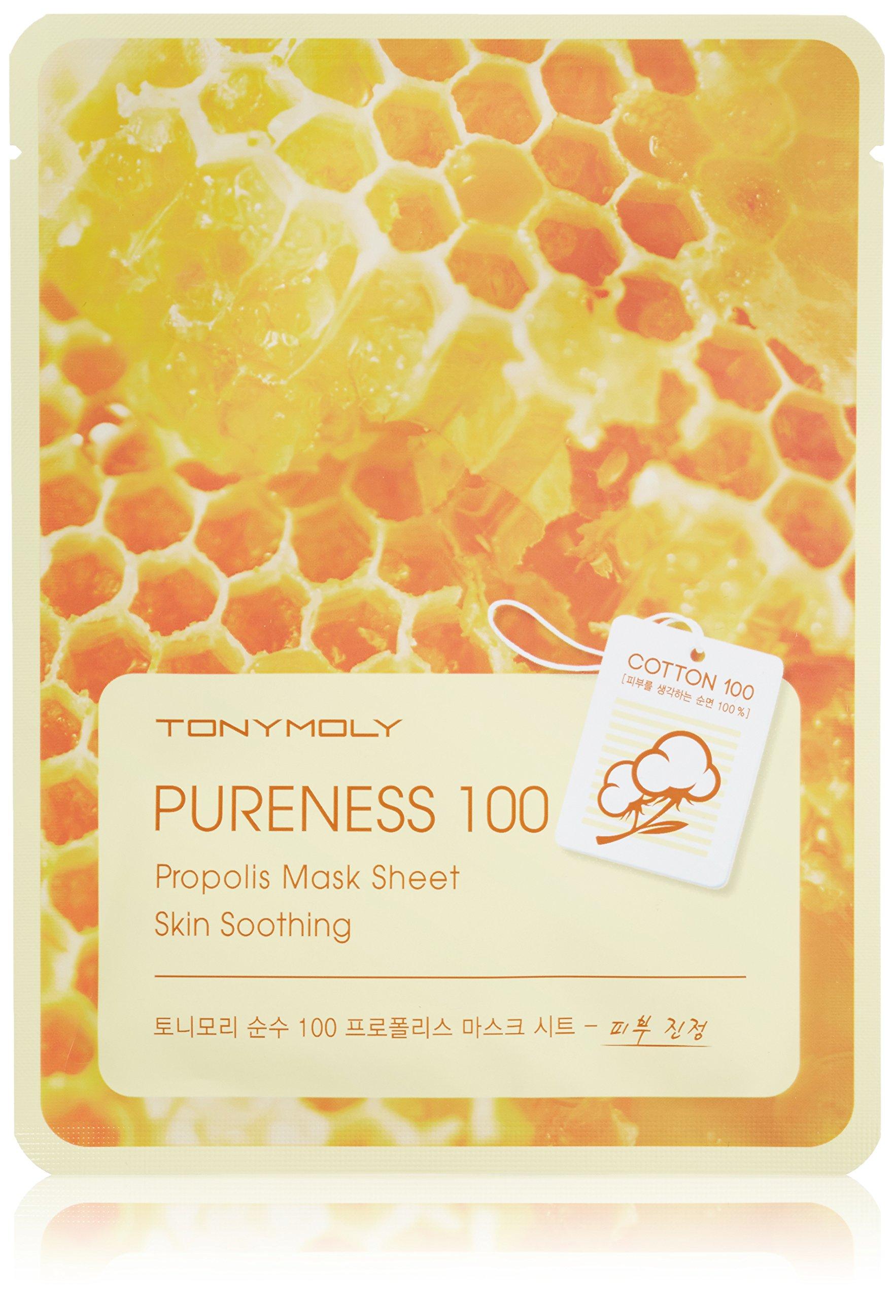 Tonymoly - Pureness 100 Propolis Skin Calming Mask Sheet