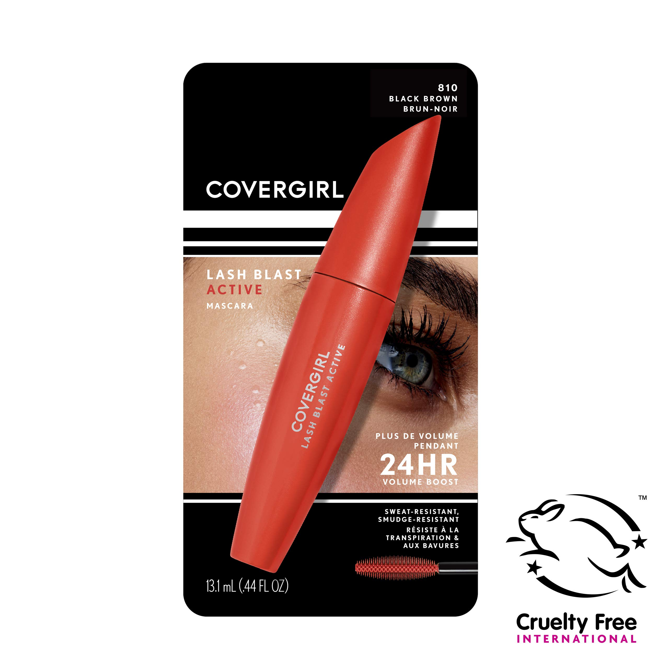 Covergirl - Covergirl Lash Blast Active Mascara, Black-brown