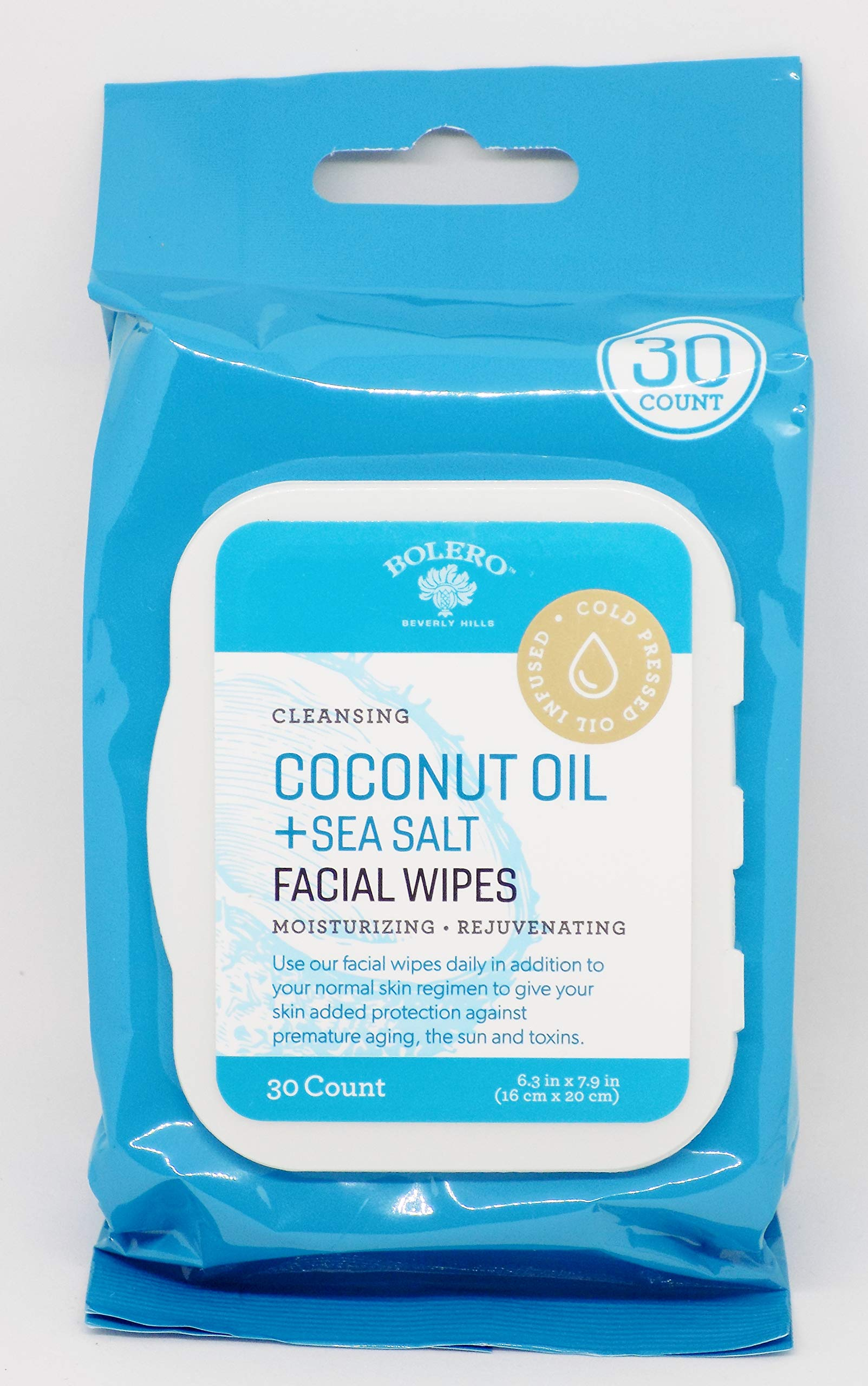 Bolero - Bolero Coconut Oil + Sea Salt Facial Wipes