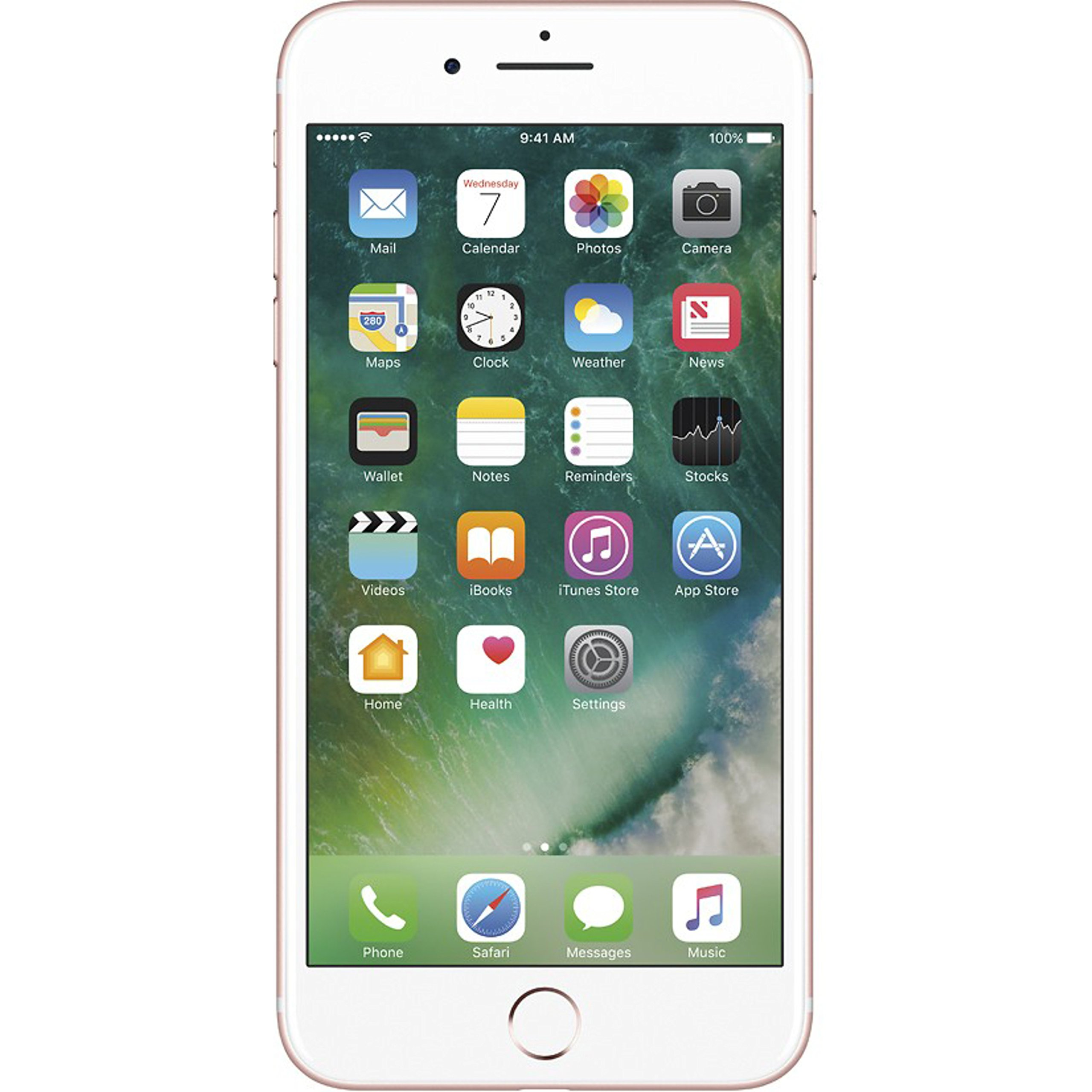 Apple - Apple iPhone 7 Plus, GSM Unlocked, 32GB - Rose Gold (Refurbished)