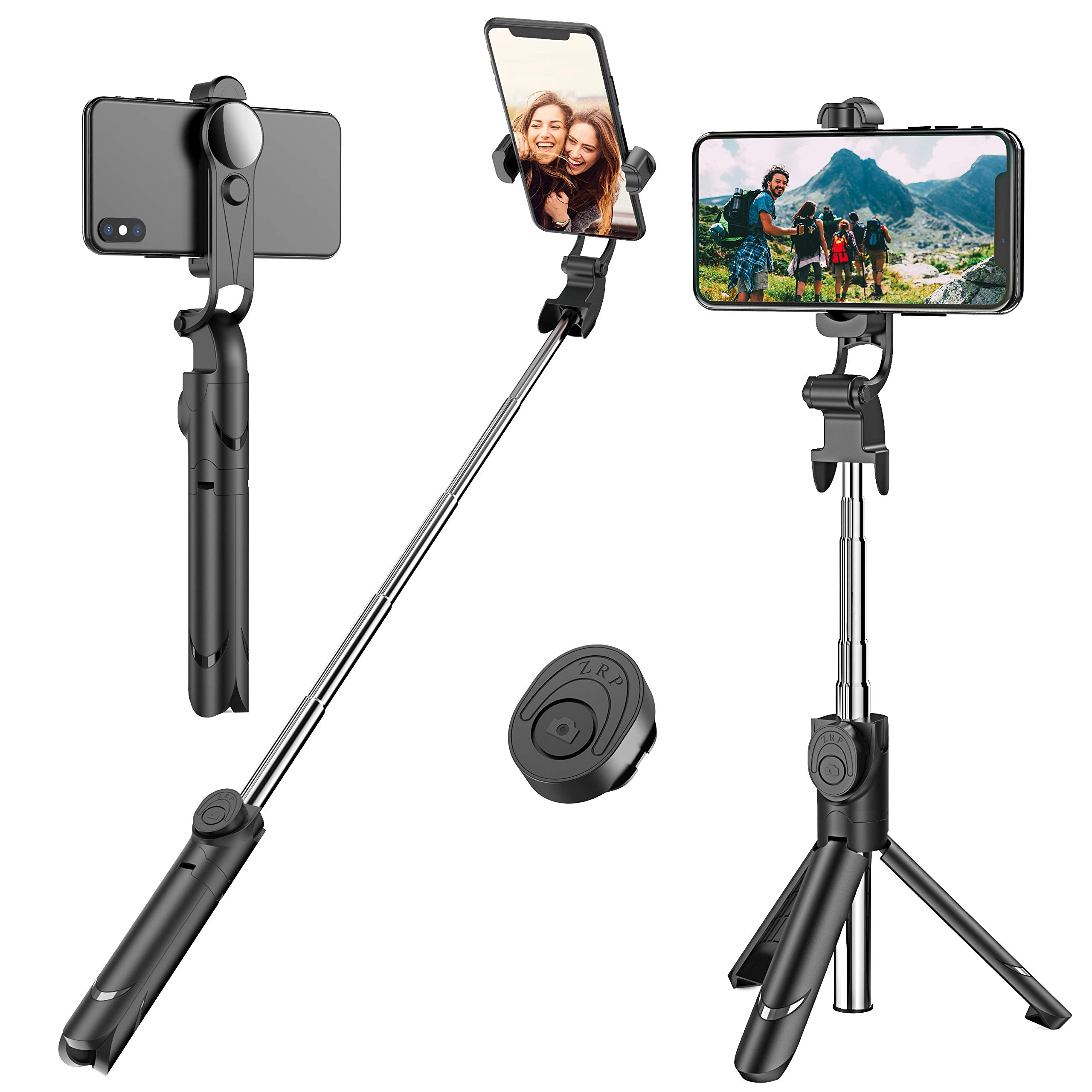 amazon.com - Selfie Stick, Extendable Selfie Stick Tripod with Detachable Wireless Remote and Tripod Stand Selfie Stick for iPhone X/iPhone 8/8 Plus/iPhone 7/7 Plus, Galaxy S9/S9 Plus/S8/S8 Plus/Note8,Huawei,More