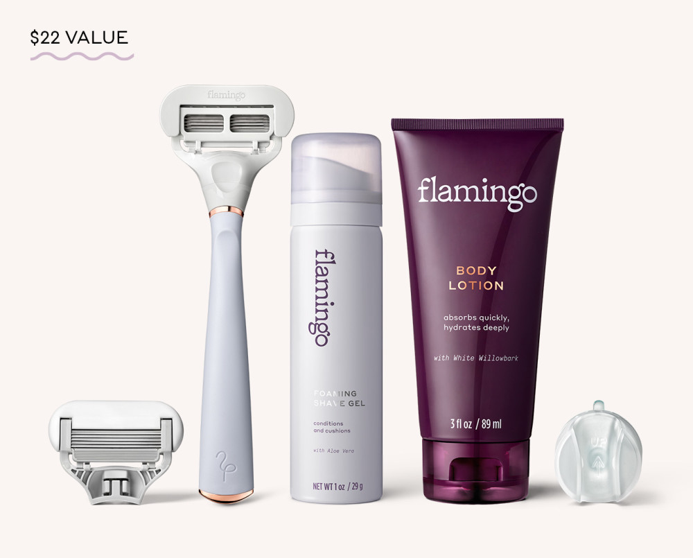Flamingo - Shave Set