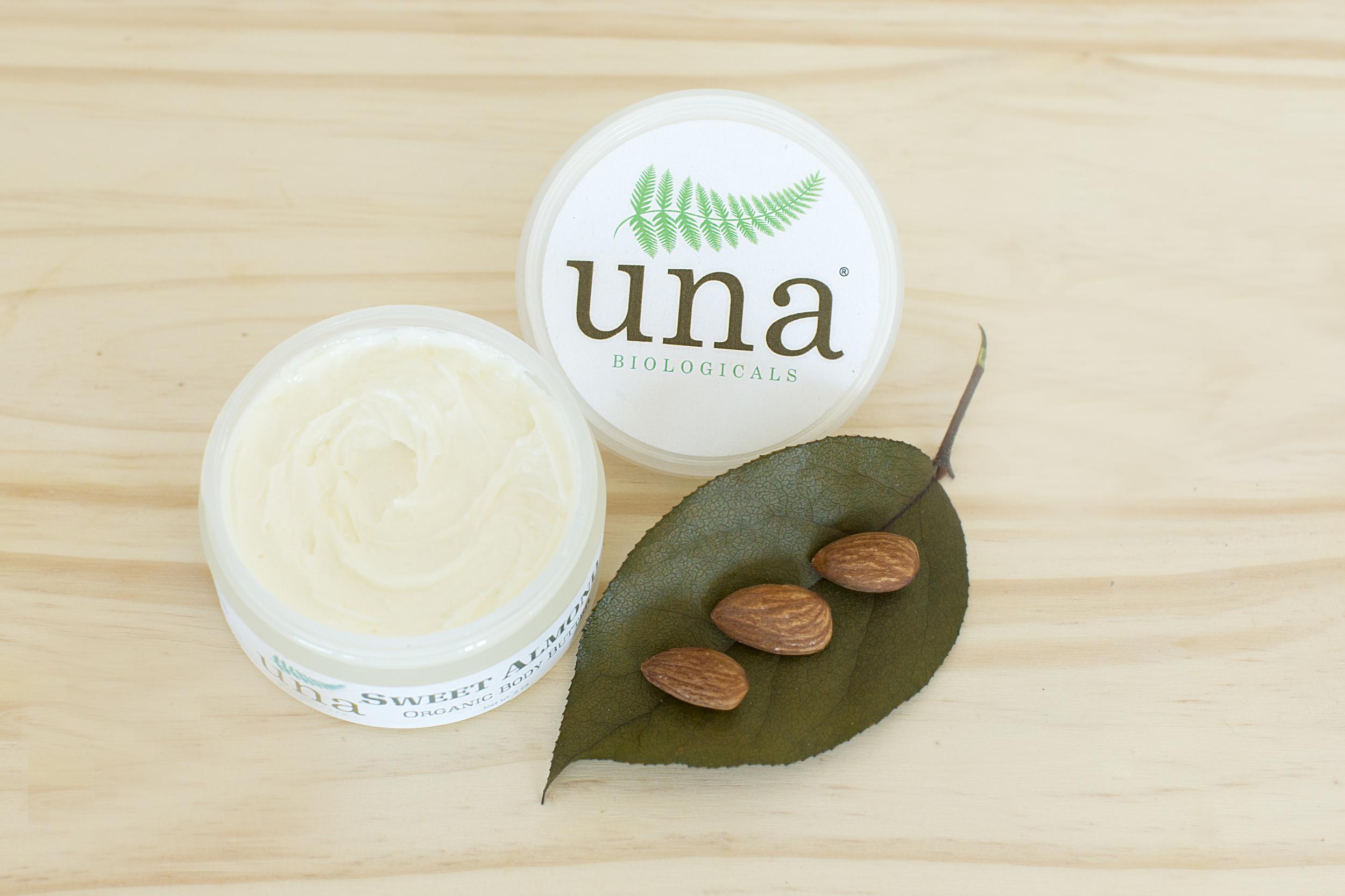 Una Biologicals Sweet Almond Organic Body Butter