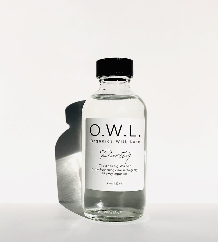 Organics With Love PURITY | Cleansing Water