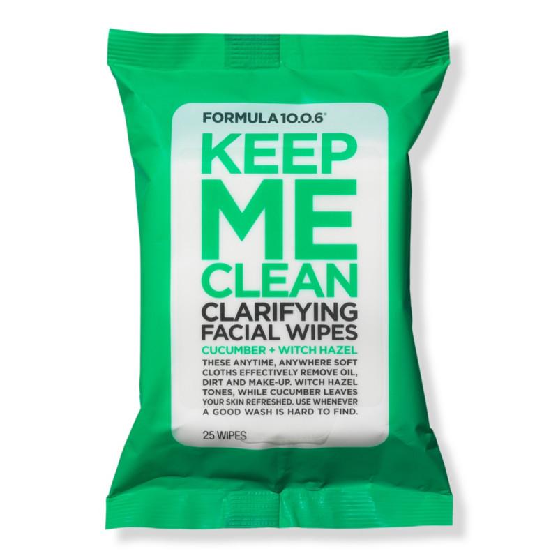 Ulta Beauty - Formula 10.0.6 Keep Me Clean Purifying Facial Wipes