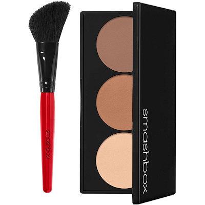 Smashbox - Step-By-Step Contour Highlighter & Bronzer Face Palette Kit