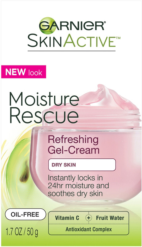 Garnier - Garnier SkinActive Moisture Rescue Refreshing Gel-Cream For Dry Skin