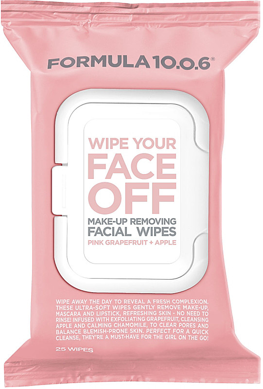 Formula Ten-O-Six - Wipe Your Face Off Make-Up Removing Facial Wipes
