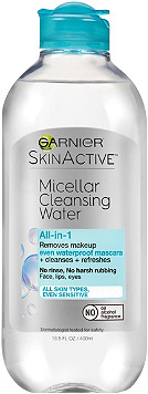Garnier - SkinActive Micellar Cleansing Water All-in-1 Cleanser & Waterproof Makeup Remover