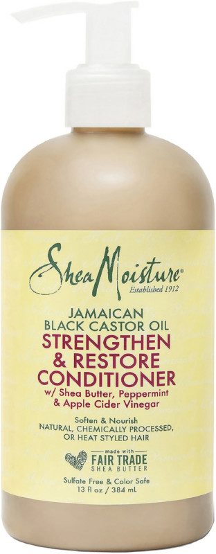 Sheamoisture - SheaMoisture Jamaican Black Castor Oil Strengthen & Restore Rinse-Out Conditioner