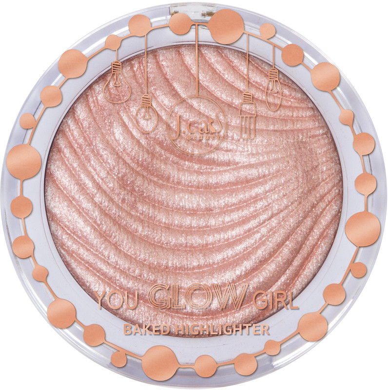 J. Cat - J.Cat Beauty Online Only You Glow Girl Baked Highlighter