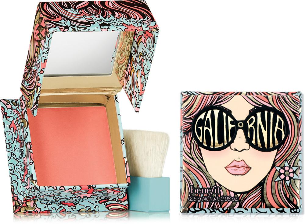 Benefit - Benefit Cosmetics GALifornia Mini Sunny Golden Pink Blush Mini