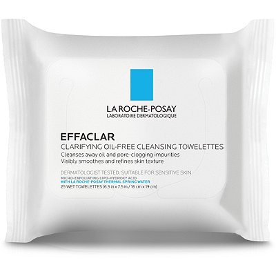 La Roche-Posay - Effaclar Clarifying Oil-Free Cleansing Towelettes