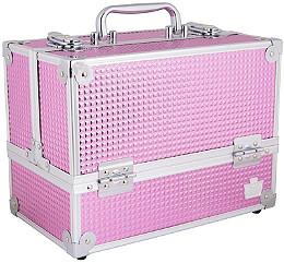 Caboodles - Pink Bubble Stylist Train Case