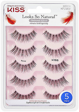 Kiss - Looks So Natural Lash Poise, Multipack