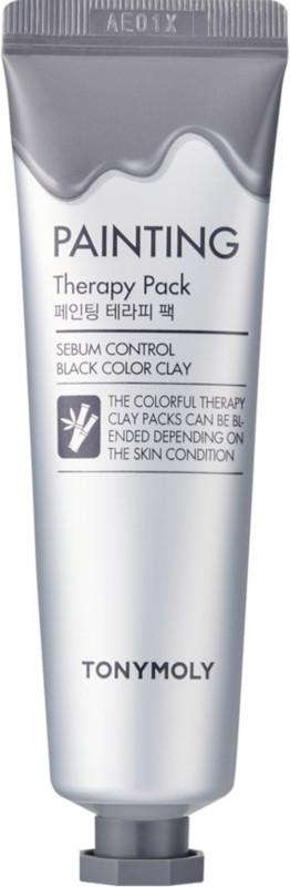 Tony Moly - Painting Therapy Pack Sebum Control Black Color Clay