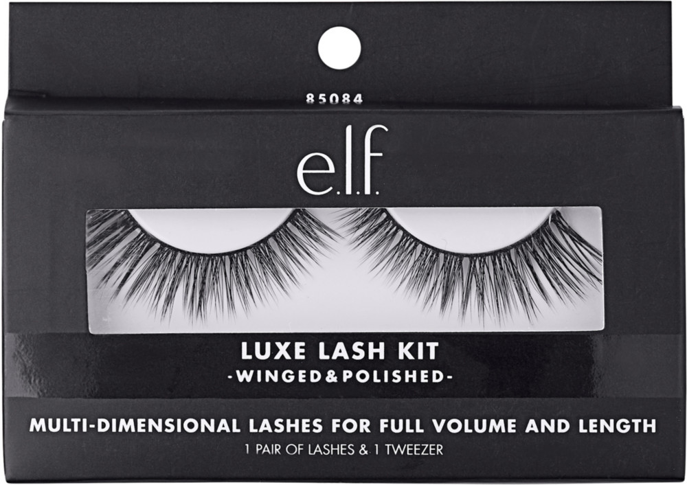 E.l.f Cosmetics - Winged & Polished Luxe Lash Kit