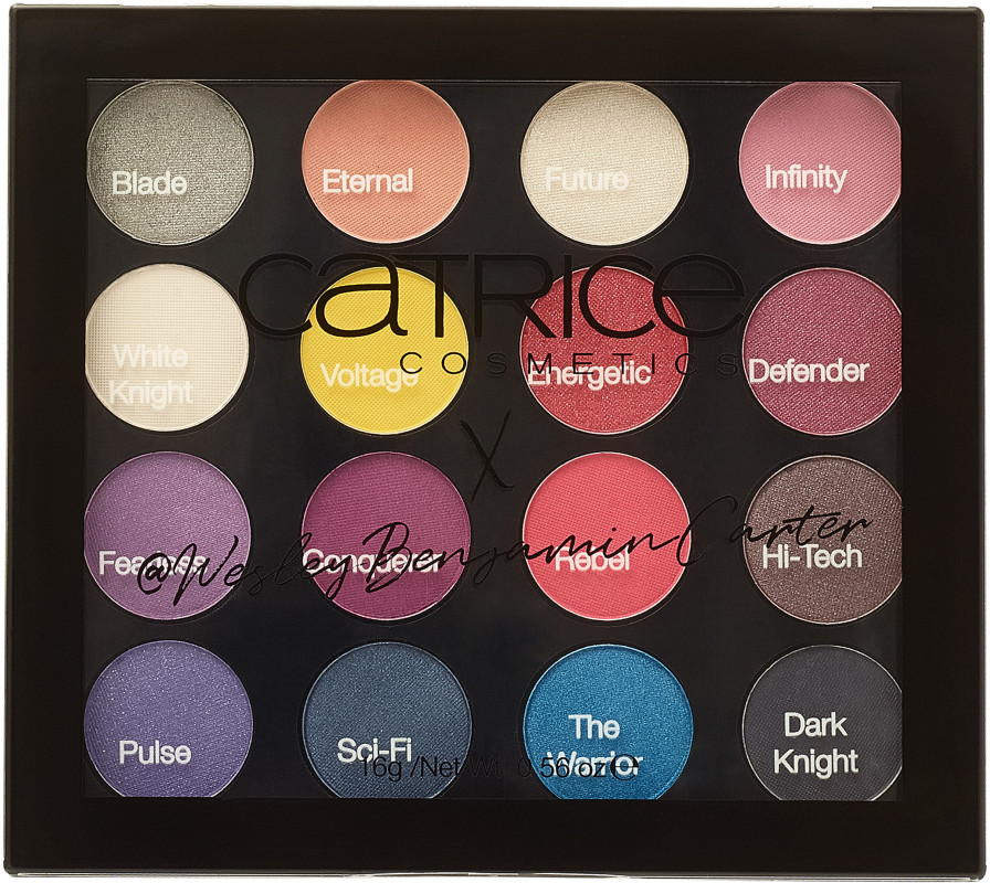 Catrice - Catrice Warrior of the Night Eyeshadow Palette