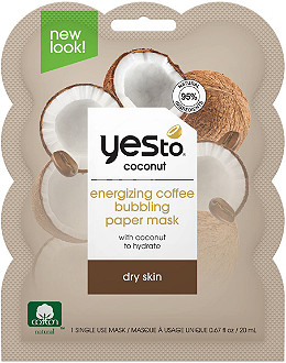 Yes To - Yes to Coconut & Coffee Bubbling Paper Mask
