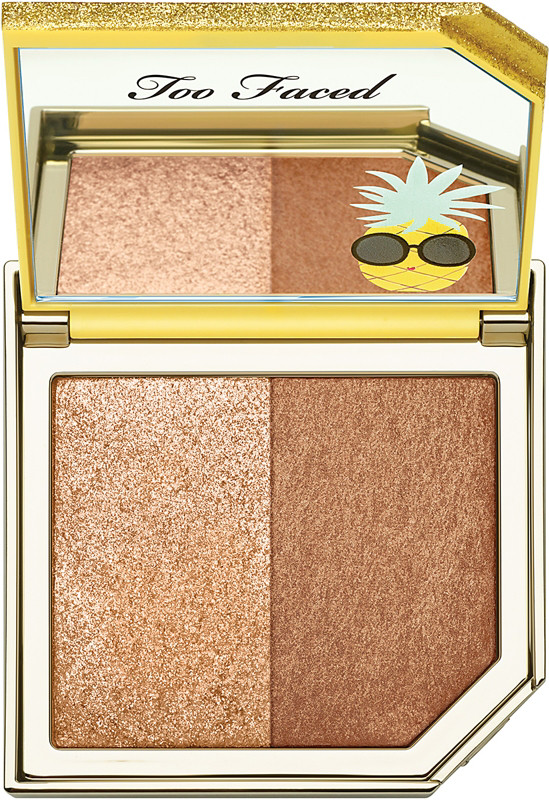 Toofaced - Too Faced Tutti Frutti - Pineapple Paradise Strobing Bronzer Highlighting Duo