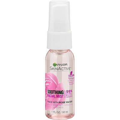 Garnier - Travel Size SkinActive Facial Mist Spray with Rose Water