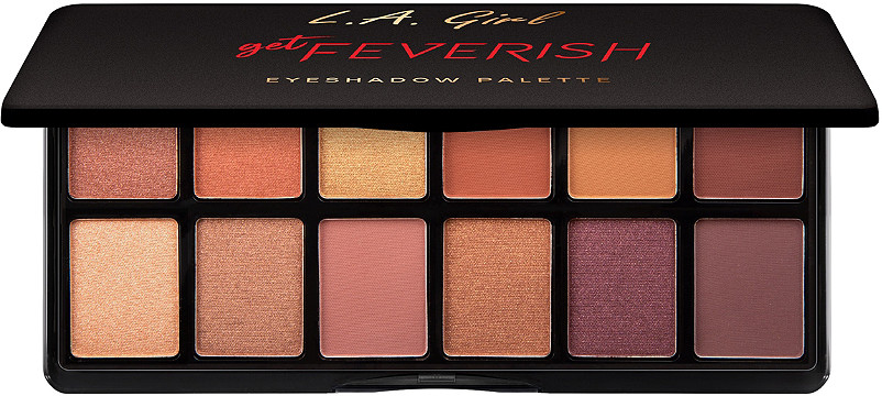 L.a. Girl - L.A. Girl Get Feverish Eyeshadow Palette