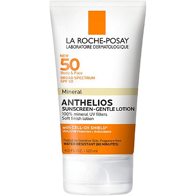 La Roche-Posay - Anthelios Body and Face Gentle-Lotion Mineral Sunscreen SPF 50