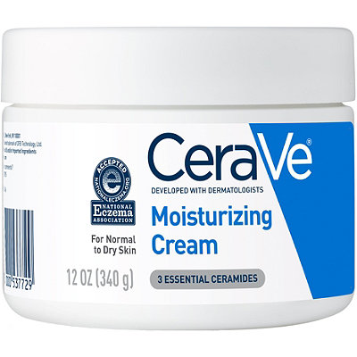 Cerave - CeraVe Moisturizing Cream, Face and Body Moisturizer, 16 oz