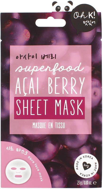 Ulta Beauty - Oh K! Acai Berry Sheet Mask