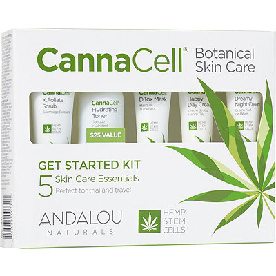 Andalou Naturals - CannaCell Botanical Get Started Kit